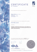 Certificate ISO-9001 - thumbnail