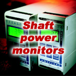 Shaft power monitors